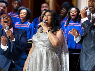 "Aretha Franklin performs during ""The Gospel Tradition: In Performance at the White House"" in the East Room of the White House, April 14, 2015. (Official White House Photo by Pete Souza) This official White House photograph is being made available only fo"